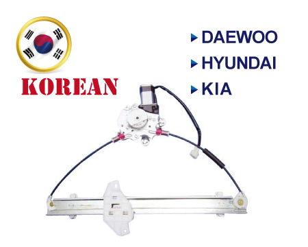 Koreansk mærker Window Regulator