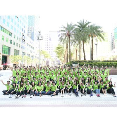 Alle ansatte i Pan Taiwan 40-års jubilæum