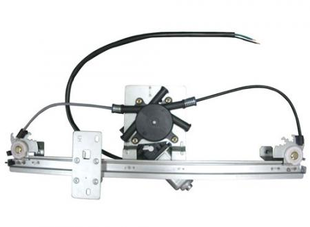 DACIA - Høy kvalitet Front Power Window Regulator Venstre med motor for Dacia Logan 2004