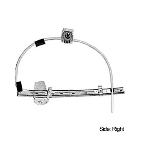 Front Right Manual Window Regulator for Renault F40  1983-94 - Window Regulator, Front Right, 1983-94, Renault F40