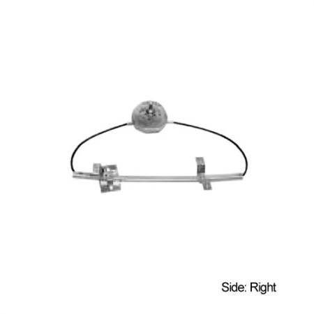 Front Right Manual Window Regulator for Renault R9 & R11 1983-87 - Window Regulator, Front Right, 1983-87, Renault R9, R11