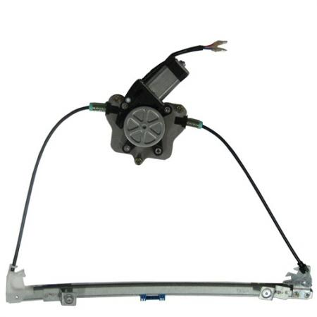Front Right Window Regulator with Motor for Renault Meagne 1996-02 - Front Right Window Regulator with Motor for Renault Meagne 1996-02