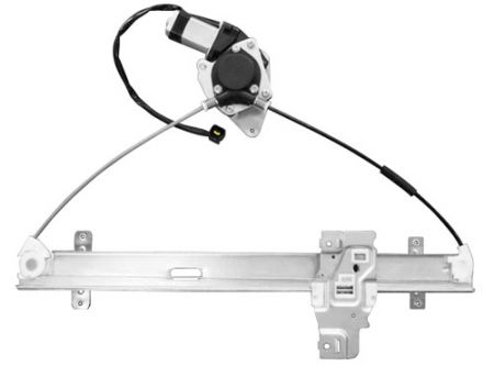Front Right Window Regulator with Motor for Isuzu Amigo 1998-00, Rodeo 1998-04 - Front Right Window Regulator with Motor for Isuzu Amigo 1998-00, Rodeo 1998-04