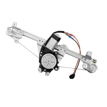 Rear Right Window Regulator with Motor for Saab 900 1994-98, 9-3 1999-03 - Rear Right Window Regulator with Motor for Saab 900 1994-98, 9-3 1999-03