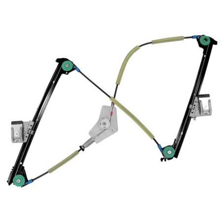 Front Left Window Regulator without Motor for Porsche 911, Boxster 2005 - Front Left Window Regulator without Motor for Porsche 911, Boxster 2005