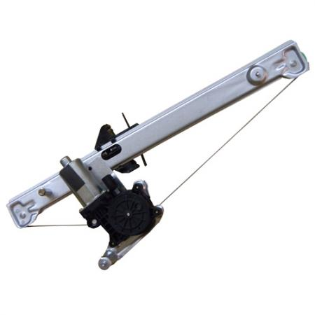 Rear Right Window Regulator with Motor for Jaguar S-Type 1999-02 - Rear Right Window Regulator with Motor for Jaguar S-Type 1999-02