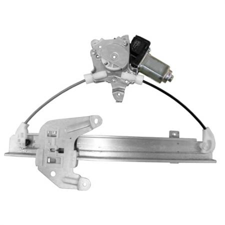 Rear Left Window Regulator with Motor for Nissan Altima 2002-06 - Altima 2002-06 Rear Left Window Regulator