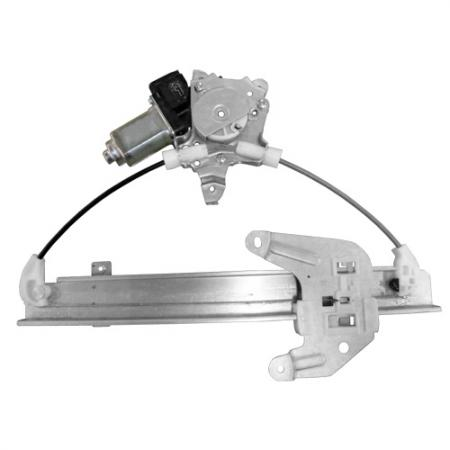 Rear Right Window Regulator with Motor for Nissan Altima 2002-06 - Rear Right Window Regulator with Motor for Nissan Altima 2002-06