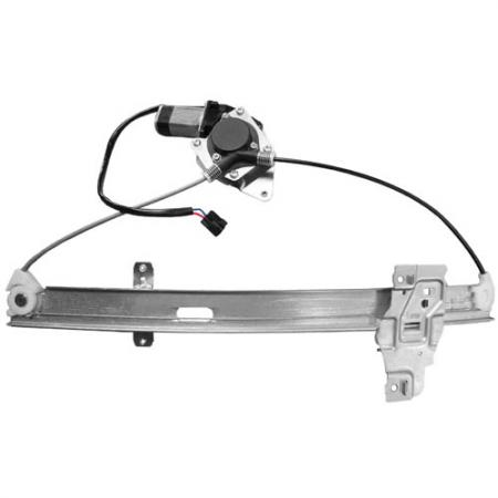 Amigo 1998-00, Rodeo 1998-04, Rear Right Window Regulator - Window Regulator