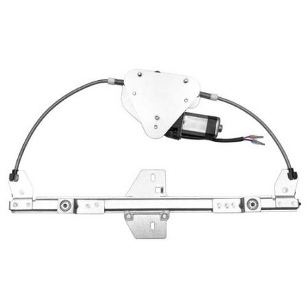 Rear Left Window Regulator with Motor for Renault Meagne 1996-02 - Meagne 1996-02 Rear Left Window Regulator