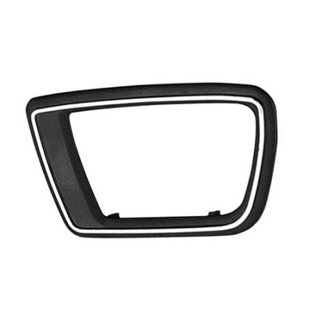 Interior Door Handle Case only Left Textured Black, 1979-92 Peugeot 505 - Interior Door Handle Case only Left Textured Black, 1979-92 Peugeot 505