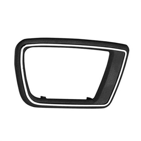 Interior Door Handle Case only Right Textured Black, 1979-92 Peugeot 505 - Interior Door Handle Case only Right Textured Black, 1979-92 Peugeot 505