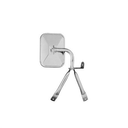 "6"" x 8"" Stainless Steel Tripod Mirror for Mini"