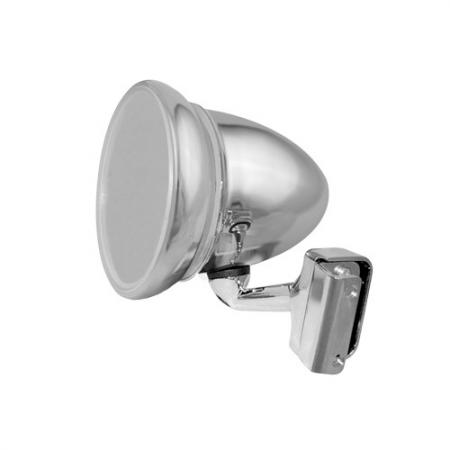 """Universal 4"""" Clamp On Bullet Racing Wing Mirror - Universal 4"""" Clamp On Bullet Racing Wing Mirror"""
