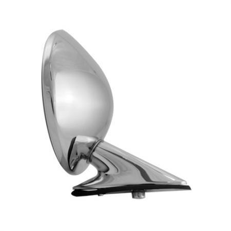 "Universal 4"" Round Ital Wing Mirror - Universal 4"" Round Ital Wing Mirror"
