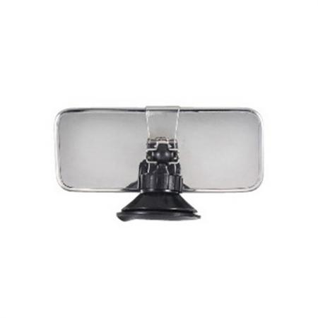 "Universal 6"" Interior Rear View Suction Cup Mirror - Interior Rear View Suction Cup Mirror, 6"""