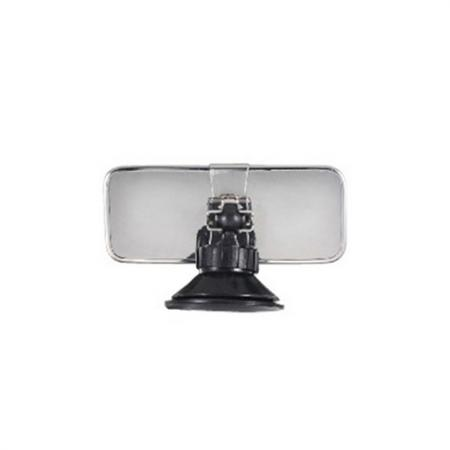 "Interior Rear View Suction Cup Mirror, 5"" - Interior Rear View Suction Cup Mirror, 5"""