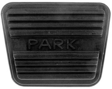 Pedal Pads - Parking Brake - Rubber parking brake for GM Buick, Cadillac 1965-96, 1985-92