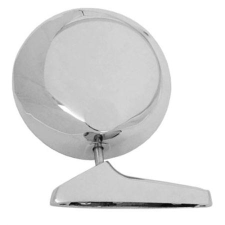 Round Chrome Side View Mirror for Lotus - Round Chrome Side View Mirror for Lotus