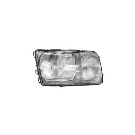 Right Automotive Headlight for Mercedes W126 S-Class 1980-91 - Right Automotive Headlight for Mercedes W126 S-Class 1980-91