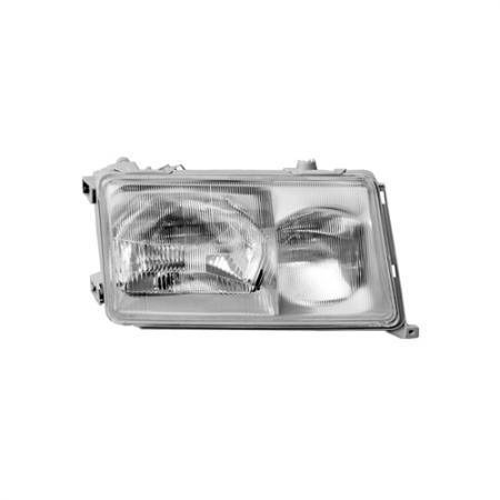 Right Automotive Headlight for Mercedes W124 E-Class 1985-89 - Right Automotive Headlight for Mercedes W124 E-Class 1985-89