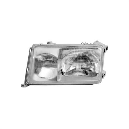 Automotive Headlight, Left 1989-93 Mercedes W124 E-Class - Automotive Headlight, Left 1989-93 Mercedes W124 E-Class