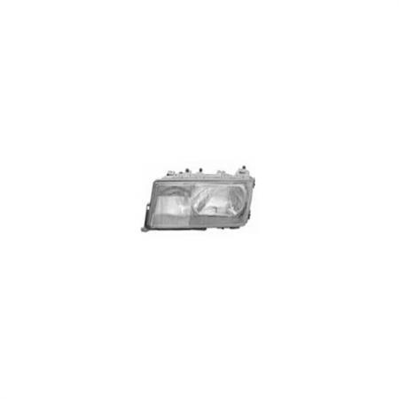 Left Automotive Headlight for Mercedes 190E C-Class 1982-93 - Left Automotive Headlight for Mercedes 190E C-Class 1982-93