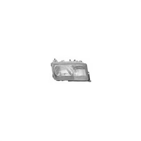 Right Automotive Headlight for Mercedes 190E C-Class 1982-93 - Right Automotive Headlight for Mercedes 190E C-Class 1982-93