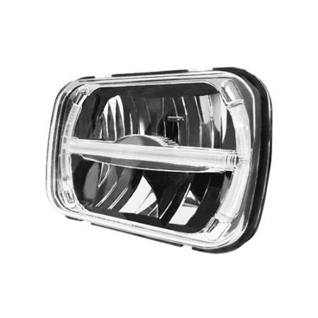 200MM LED Headlight Front View