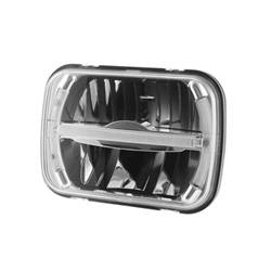 200mm LED High / Low Beam Headlamp with Position Lamp - 200mm LED High / Low Beam Headlamp with Position Lamp