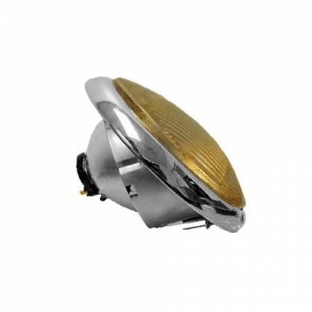 Headlight Amber Lens for Porsche 356A, 356B, 356C 1950-64 - Headlight Amber Lens for Porsche 356A, 356B, 356C 1950-64