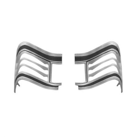 Left Tail Lamp Bezel with Gasket for GM Chevelle 1967 - Left Tail Lamp Bezel with Gasket for GM Chevelle 1967