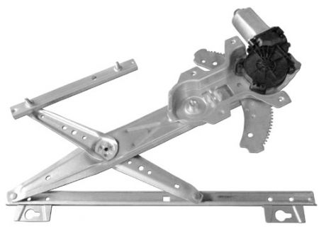 Front Right Window Regulator with Motor for Land Rover Defender 90/110 1998-16 - Front Right Window Regulator with Motor for Land Rover Defender 90/110 1998-16