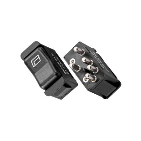 Power Window Switch, Front Left/Front Right Benz W123 W201 - Power Window Switch, Front Left/Front Right