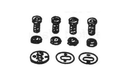 Kit Bearing, Steering Warm for Peugeot 4040-14 WITH STEEL 4040-15W/O STEEL - Kit Bearing, Steering Warm