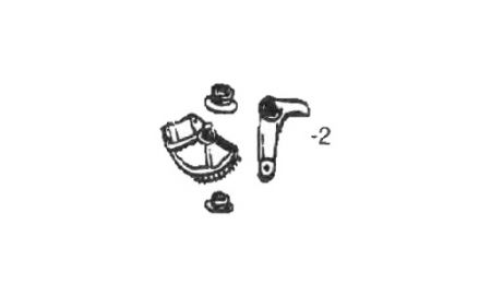Clutch Pedal KIT for Renault R9 - Clutch Pedal KIT