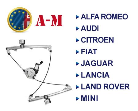 European Brands Window Regulator A-M - European Brands Window Regulator