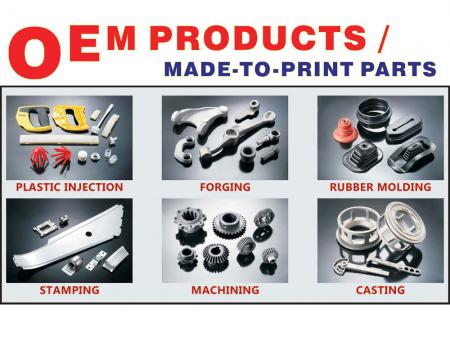 Product Development - Made to print parts
