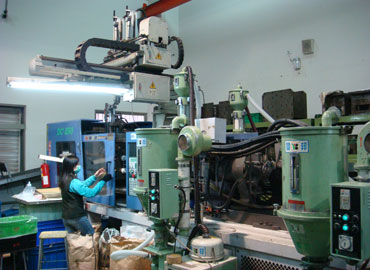Plastic injection Molding - Plastic injection in process