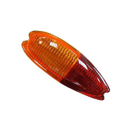 Left Automotive Tail Light Lens for Porsche 356 - Left Automotive Tail Light Lens for Porsche 356
