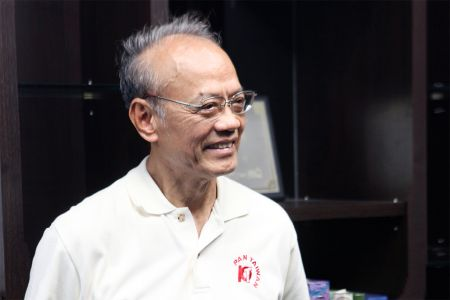 Mr. Sam Lee, the founder of Pan Taiwan