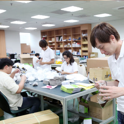 Produktkontroll och förpackning