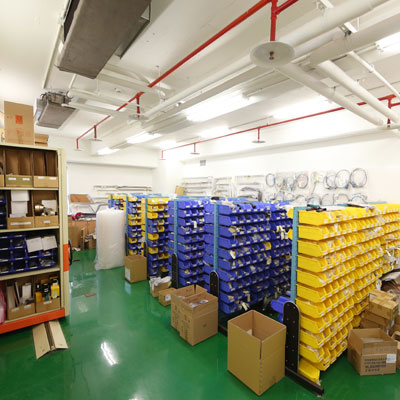 Sample Room for Shipping Archives