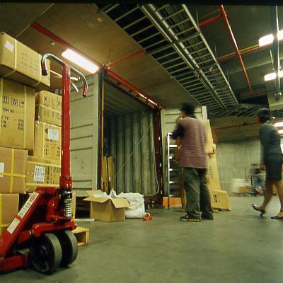 Container Yard i vår byggnad