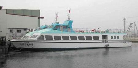 Kapal Penumpang Catamaran 199GT FRP (1)