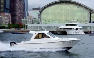 Sunshine-32-Fuß-Yacht mit geschlossenem Steuerhaus