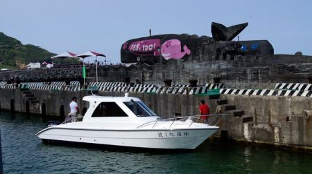 Sunshine-32-foot enclosed wheelhouse yacht the appearance