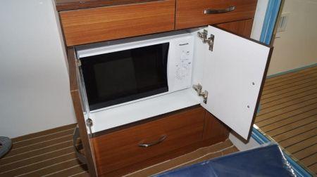 Yate de timón cerrado Sunshine-32 pies el pequeño equipo eléctrico doméstico
