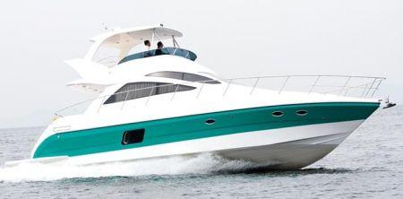 56 Fuß Sportbridge-Yacht (2)