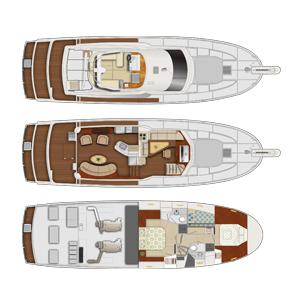 Du thuyền hoa tiêu 58 feet